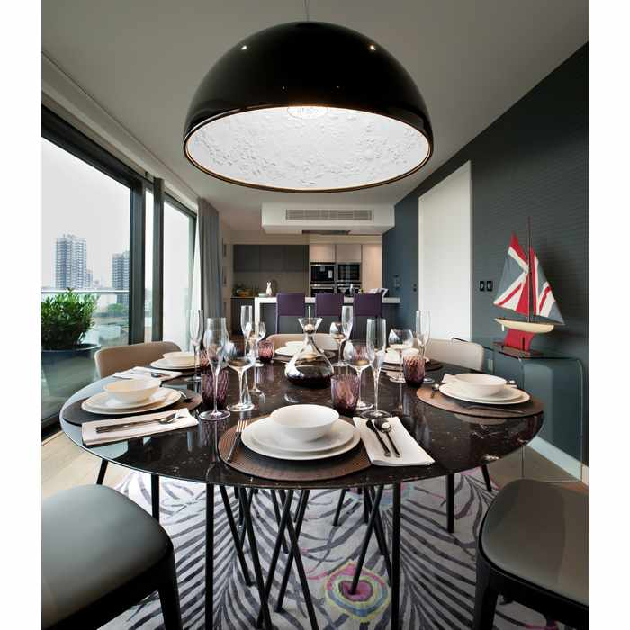 London Penthouse - Dining Room