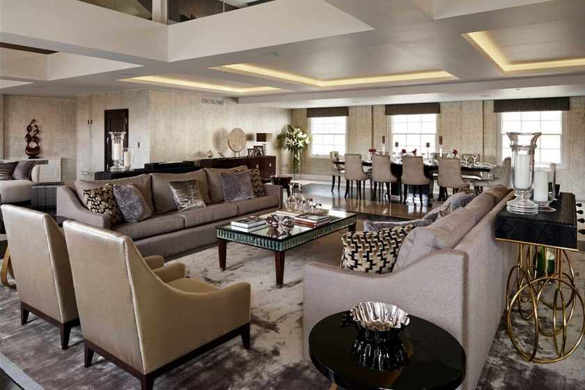 A Luxury London Penthouse
