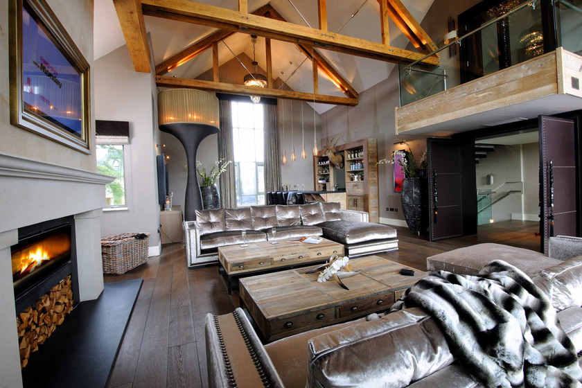 An Eco Hunting Lodge In Gleneagles