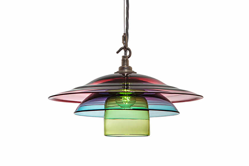 Curiousa & Curiousa, Made To Measure Colourful Hand Blown Glass Lighting