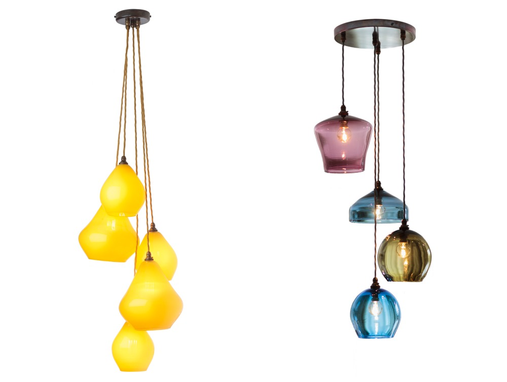 blown glass pendant lights hand blown glass hanging light pendant. Black Bedroom Furniture Sets. Home Design Ideas