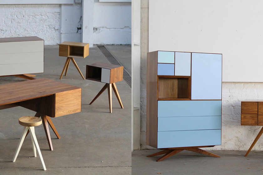 Invisible City, Sustainable Furniture With Architectural Influence