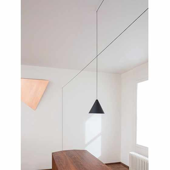 String Light Cone Ceiling Light