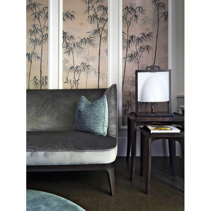 Hand painted wall coverings by de Gournay