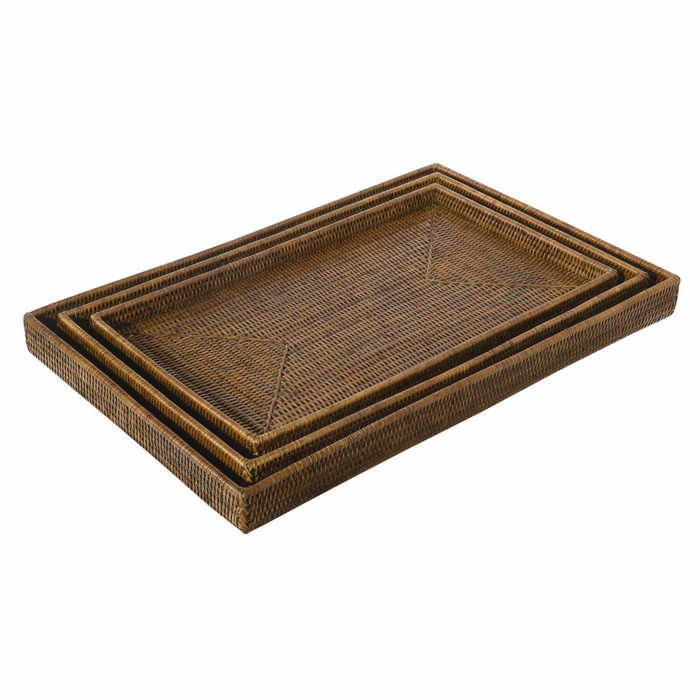 Rattan Serving Trays