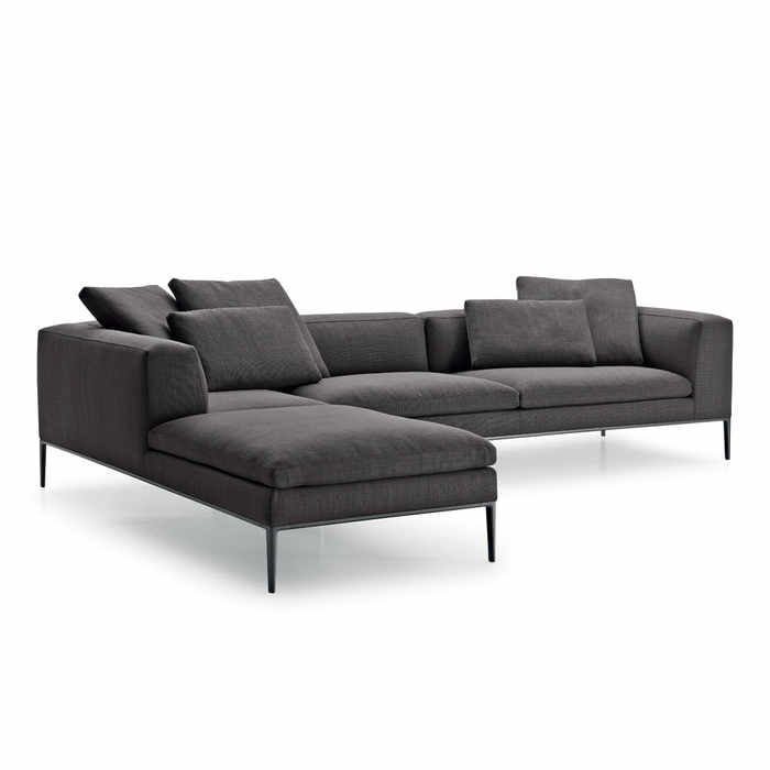B&B Italia Michel Corner Sofa by Antonio Citterio
