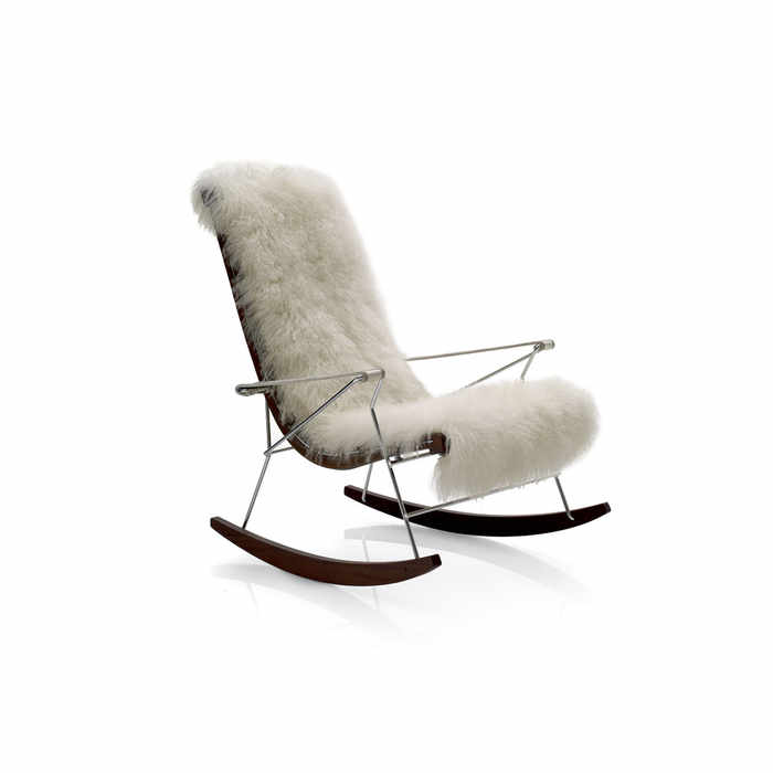 B&B Italia J.J. Rocking Armchair by Antonio Citterio