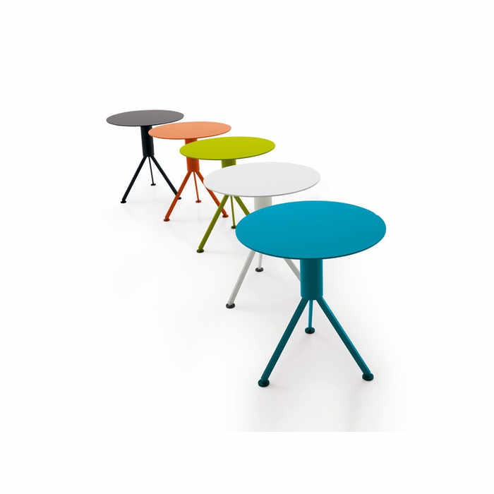 B&B Italia Husk Outdoor Low Table Ø 45 by Patricia Urquiola