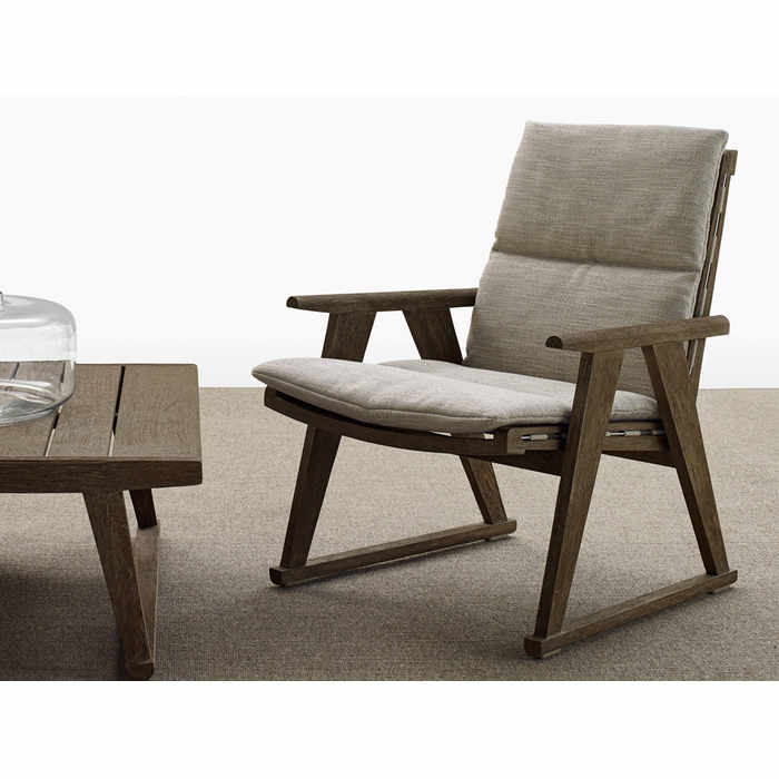 B&B Italia Gio Outdoor Lounge Chair by Antonio Citterio