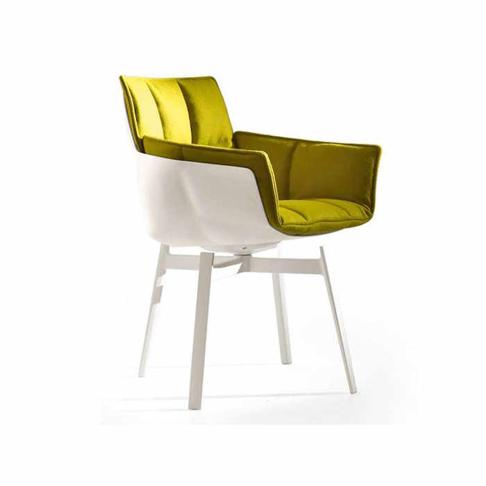 B&B Italia Husk Swivel Chair by Patricia Urquiola