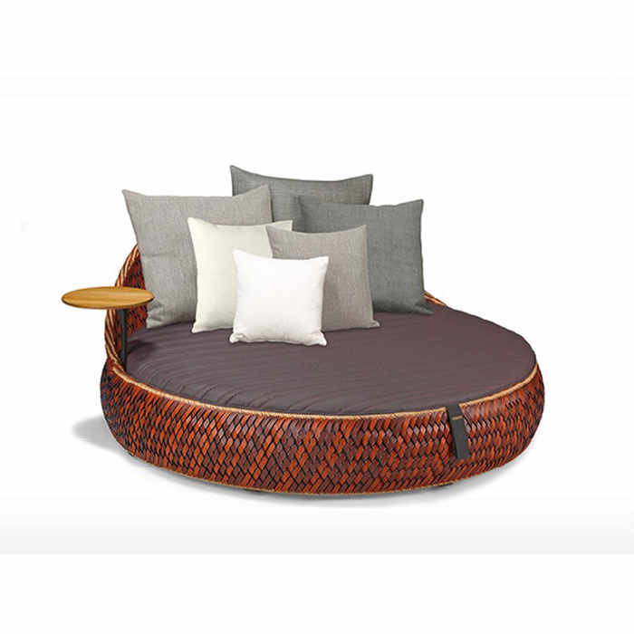Dedon Dala Outdoor Loveseat by Stephen Burks