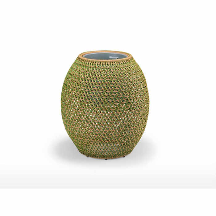 Dedon Dala Outdoor Planter by Stephen Burks