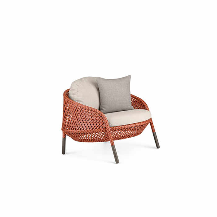 Dedon Ahnda Outdoor Lounge Chair by Stephen Burks