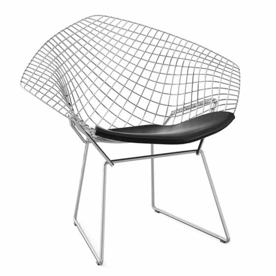 Bertoia Diamond Armchair - Quickship