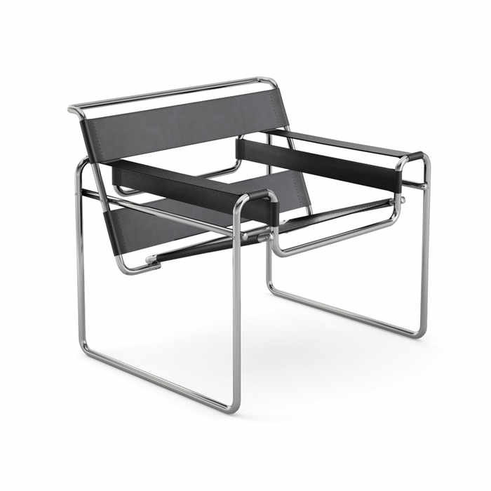 Knoll Wassily Lounge Chair by Marcel Breuer