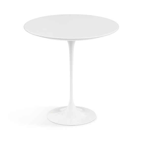 Saarinen Tulip Round Side Table - Quickship