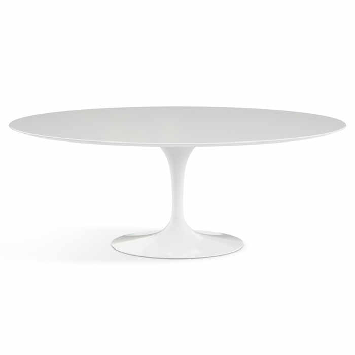 Knoll Saarinen Tulip Oval Dining Table - Quickship by Eero Saarinen