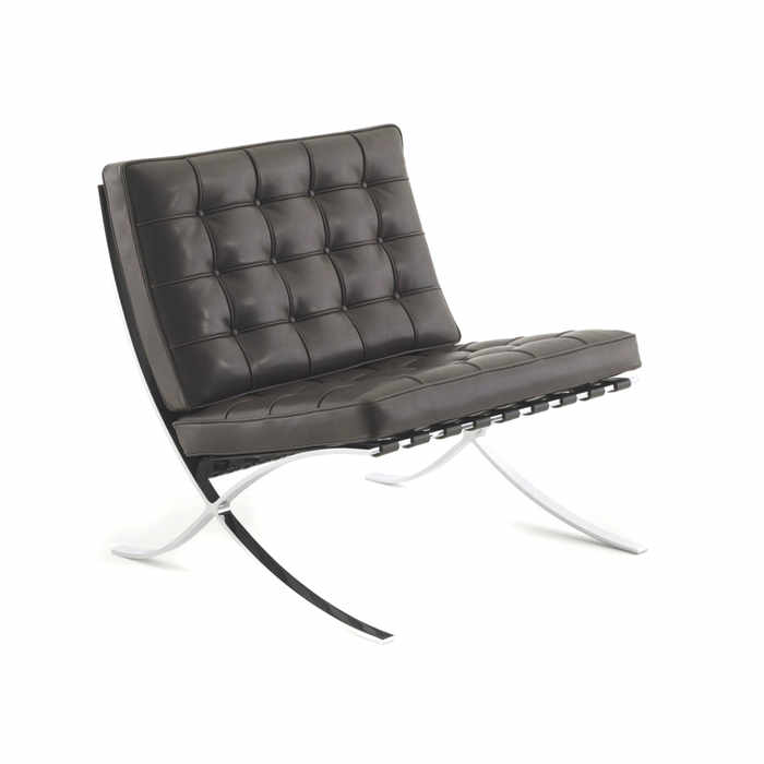 Knoll Barcelona Relax Lounge Chair by Ludwig Mies Van der Rohe