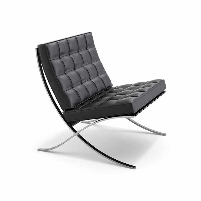 Knoll Barcelona Lounge Chair by Ludwig Mies Van der Rohe