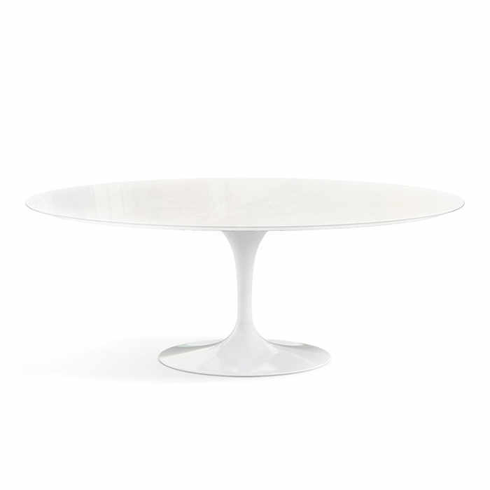 Knoll Saarinen Oval Outdoor Dining Table by Eero Saarinen