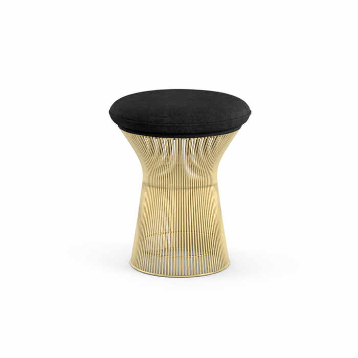 Knoll Platner Gold Stool by Warren Platner