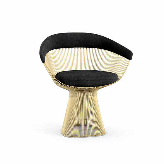 Platner Gold Side Chair