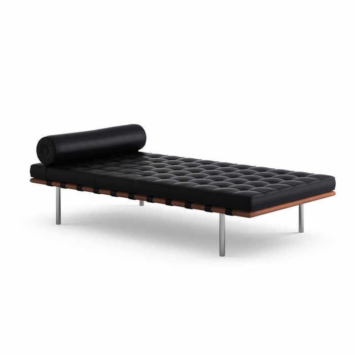 Knoll Barcelona Day Bed by Ludwig Mies Van der Rohe