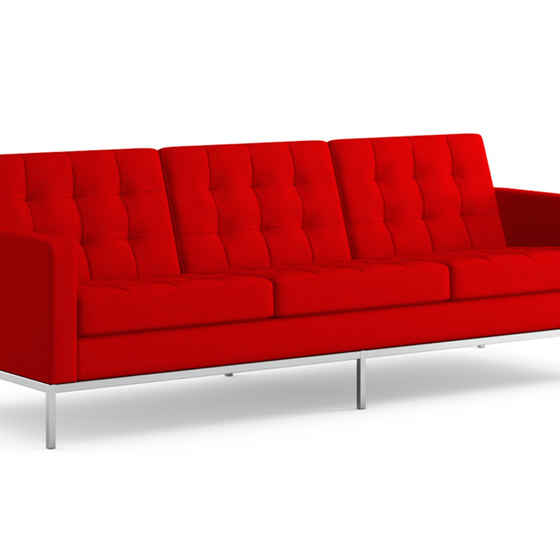 Florence Knoll Three Seater Sofa
