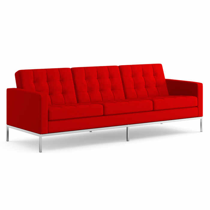 Knoll Florence Knoll Three Seater Sofa by Florence Knoll