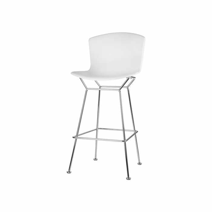 Knoll Bertoia Plastic Bar Stool by Harry Bertoia