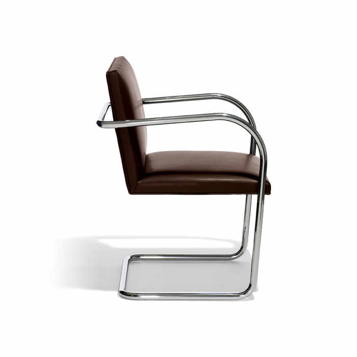 Knoll Brno Tubular Side Chair by Ludwig Mies van der Rohe
