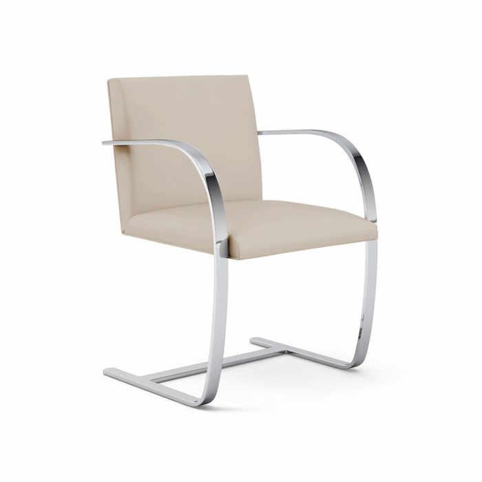 Knoll Brno Flat Bar Side Chair by Ludwig Mies van der Rohe