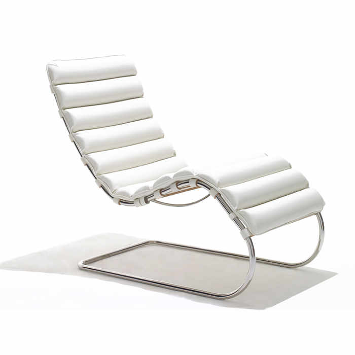 Knoll MR Chaise Longue by Ludwig Mies van der Rohe