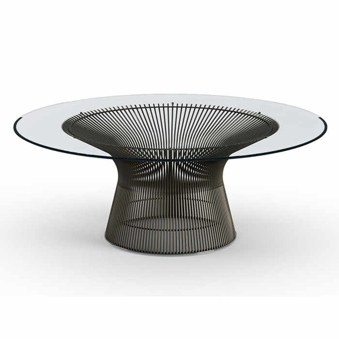 Knoll Platner Coffee Table Ø 107 by Warren Platner