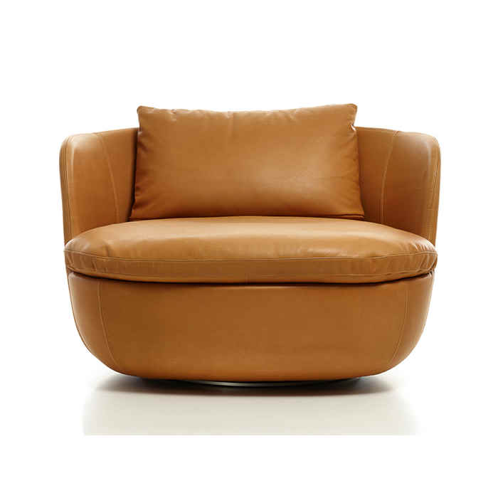 moooi Bart Swivel Lounge Chair by moooi Works
