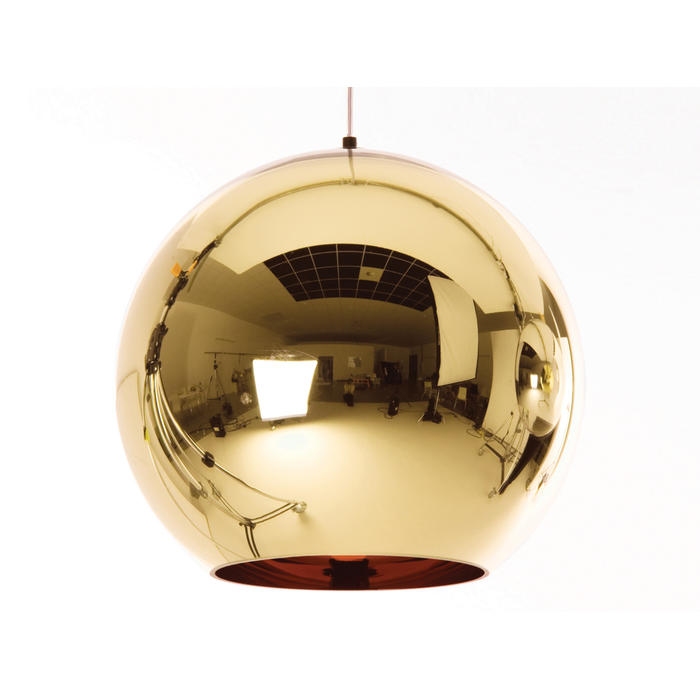 Tom Dixon Copper Bronze Shade Pendant Light