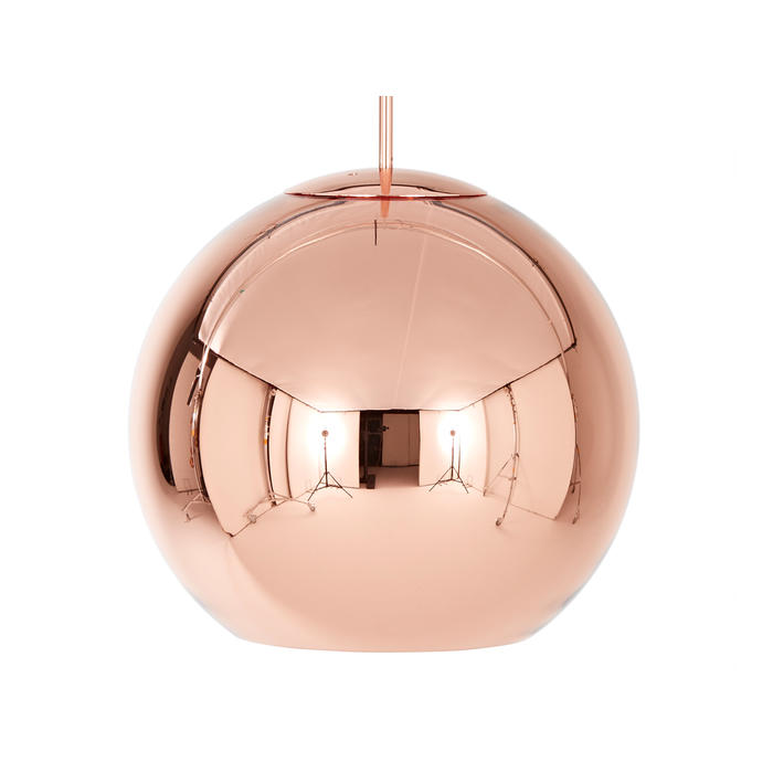 Tom Dixon Copper Round Pendant Light