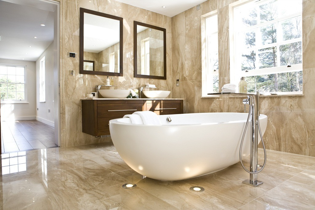 Bathed in Luxury: Five-Star Bathrooms