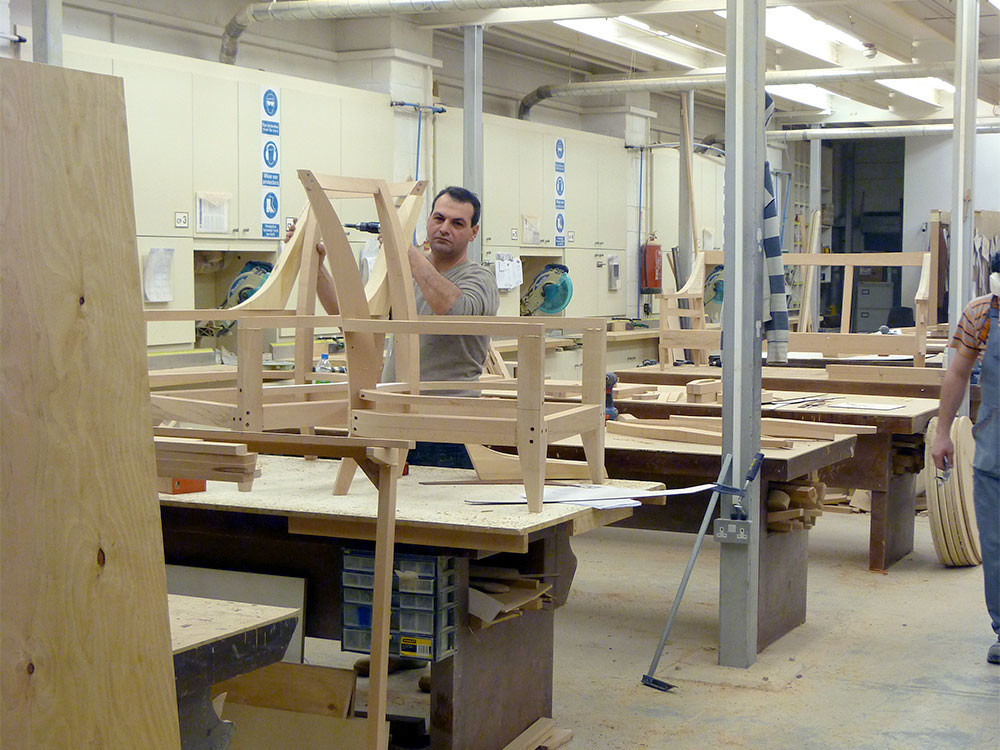 Behind the Scenes at The Sofa and Chair Company