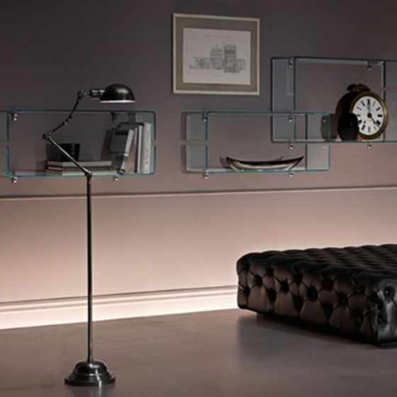 Babila glass shelf