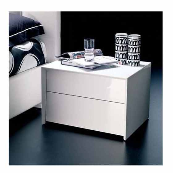 Isacco Bedside Table